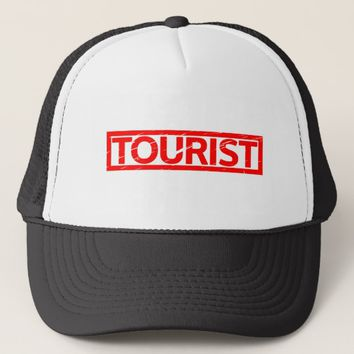 Tourist Stamp Trucker Hat