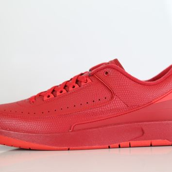 BC QIYIF Nike Air Jordan Retro 2 Low Gym Red Hyper Turq 832819-606