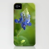 Bluebonnet ~ State Flower of Texas iPhone Case by Colleen G. Drew | Society6