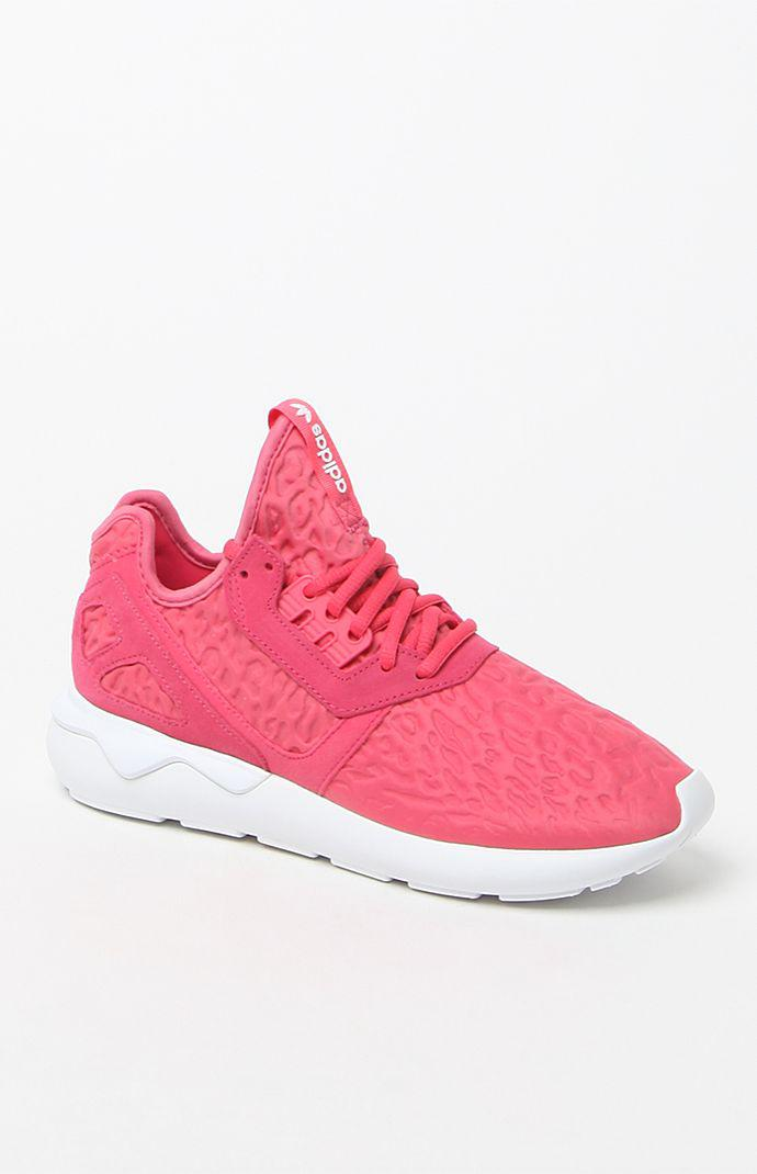 d380ec3f2c5 adidas Tubular Runner High-Top Sneakers - Womens Shoes - Pink