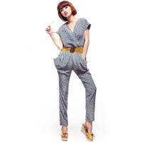 Floral Piece Pants Jumpsuit - Designer Shoes|Bqueenshoes.com