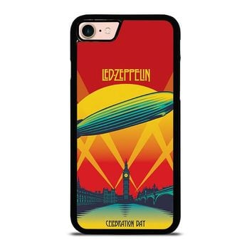 LED ZEPPELIN CELEBRATION DAY iPhone 8 Case Cover
