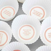 Fortune Cakes Baking Cup Set- White One