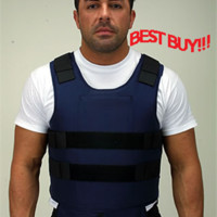 Complete Coverage Concealable GOLDFLEX BulletProof Vests