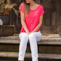 For The Best Top, Coral
