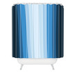 Lisa Argyropoulos Jazzy Blues Shower Curtain
