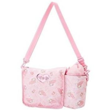 NEW My Melody Shoulder bag with a bottle case Sanrio  from Japan