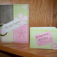 I'm Sew Happy You have me in stitches Card  by SuperCraftyLady