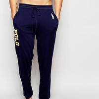 Polo Ralph Lauren Logo Jersey Lounge Pants In Regular Fit at asos.com