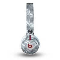 The Knitted Snowflake Fabric Pattern Skin for the Beats by Dre Mixr Headphones