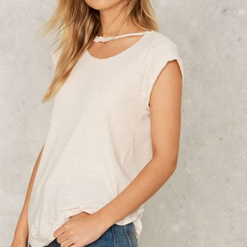 LNA Valley Distressed Tee