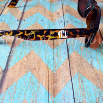 Monogram Decal for Sunglasses - Monogram Decal for Glasses