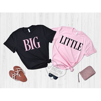 Big and Little Sorority Shirts