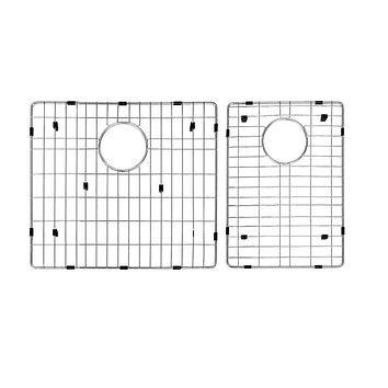 DAX-GRID-SQ2920 / DAX GRID FOR KITCHEN SINK, STAINLESS STEEL BODY, CHROME FINISH, COMPATIBLE WITH DAX-SQ-2920, 17-1/2 X 14-3/4 INCHES