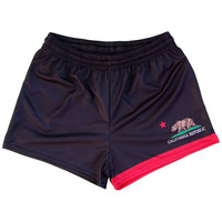 Womens California Flag Track Shorts