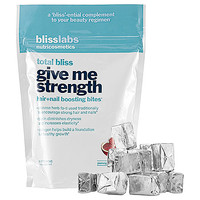 Bliss Total Bliss Give Me Strength Hair+Nail Boosting Bites (30 Soft Chews)