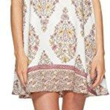 Show Me Your Mumu Women's Kylie Mini Dress Flower Shower Gauze Medium
