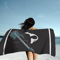 InKartel Beach Towel