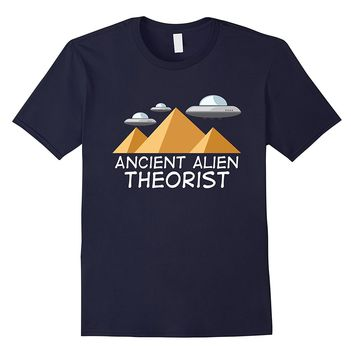 Ancient Alien Theorist Shirt Funny