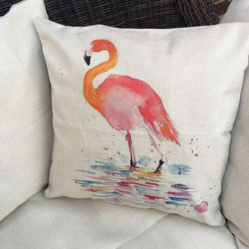Flamingos are Fabulous Pillow Covers