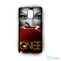Malficient Once Upon Time Apple Snow White for Samsung Galaxy Note 2/Note 3/Note 4/Note 5/Note Edge phone case