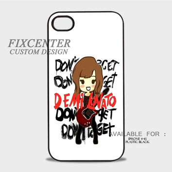 Demi Lovato Chibi - iPhone 4/4S Case
