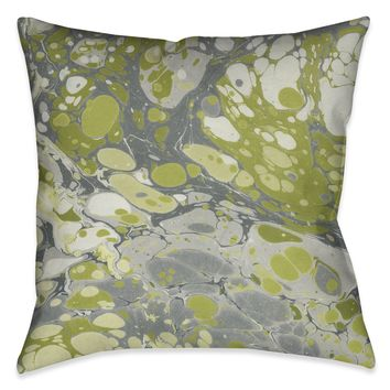 Olive Marble Decorative Pillow