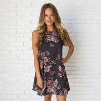 Dress Up Floral Shift Dress