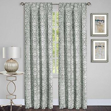 Ben&Jonah Collection Madison Window Curtain Panel - 54x84 - Silver