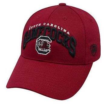 Licensed South Carolina Gamecocks NCAA Whiz Adjustable Embroidered Hat Cap TOW 769769 KO_19_1