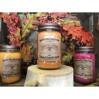 Toasted Pumpkin-Spice Natural Hand Poured Soy Candles