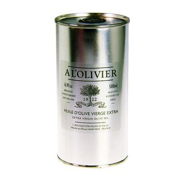 A L'Olivier Refill Extra Virgin Olive Oil Tin, 16.9 fl oz (500mL)