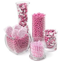 Pink Candy Kit - Party Candy Buffet Table