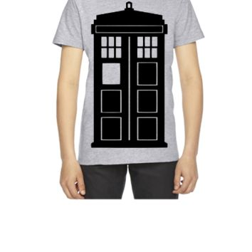 Doctor Who Phone Box - Youth T-shirt