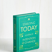 Starting Today by Chronicle Books from ModCloth