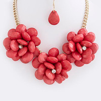 Garden Party Flower Necklace