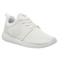 Nike Roshe Run Trainers White White W - Unisex Sports