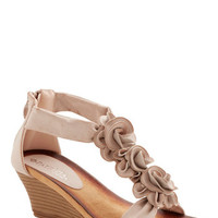 ModCloth Statement Aromatic Bouquet Sandal