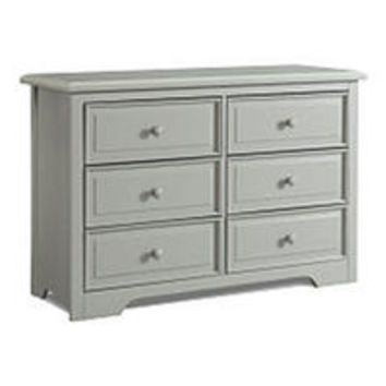 Graco 6 Drawer Dresser - Pebble Gray