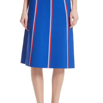 Tory Sport Twin Stripe Tech Knit Skirt | Nordstrom
