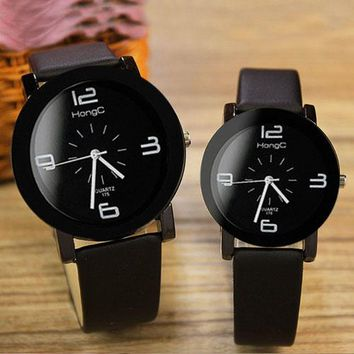 Yazole 2017 Couple Watches Top Brand Famous Women Men Lovers Watch Female Male Clock Quartz Watch for Lovers 1 Pair=2 Pieces