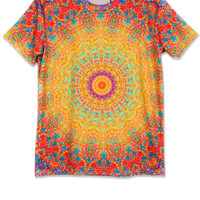 Dizzying Circle Short Sleeve Tee - OASAP.com