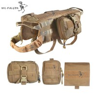 The Falcon MOLLE Tactical Dog Vest Pack