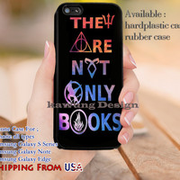 Not Only Books iPhone 6s 6 6s+ 5c 5s Cases Samsung Galaxy s5 s6 Edge+ NOTE 5 4 3 #movie #HarryPotter #divergent #supernatural dl9