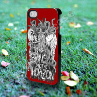 bring me the horizon - for iPhone 4/4s, iPhone 5/5S/5C, Samsung S3 i9300, Samsung S4 i9500 *Greensoulcase*