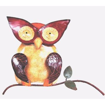 D Art Collection Iron Owl WallDecor