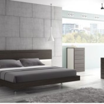 Maia Platform Bed 17867221 by J&M Furniture - Opulentitems.com