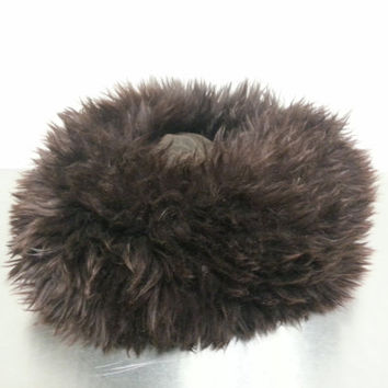 Vintage Italian Lamb Hat High Fashion Winter Wear Fall Fashion Made In Italy Perfect For Sweater Weather