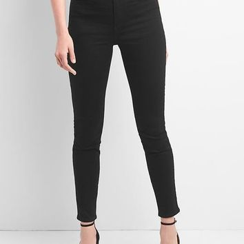 Super High Rise True Skinny Jeans in Everblack | Gap