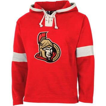Old Time Hockey Ottawa Senators Grant Lace Hoodie